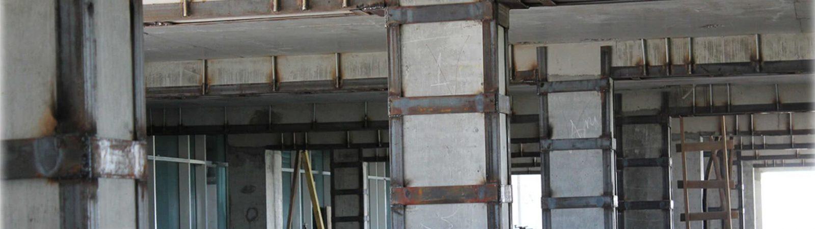 Посилення, зміцнення прорізів і конструкцій