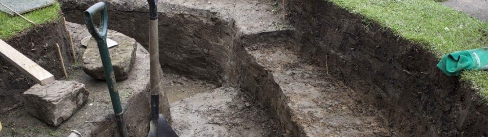Как копать яму под канализацию?
