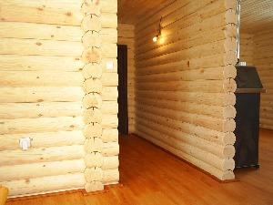 деревянные межкомнатные стены