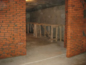 межкомнатные стены из кирпича