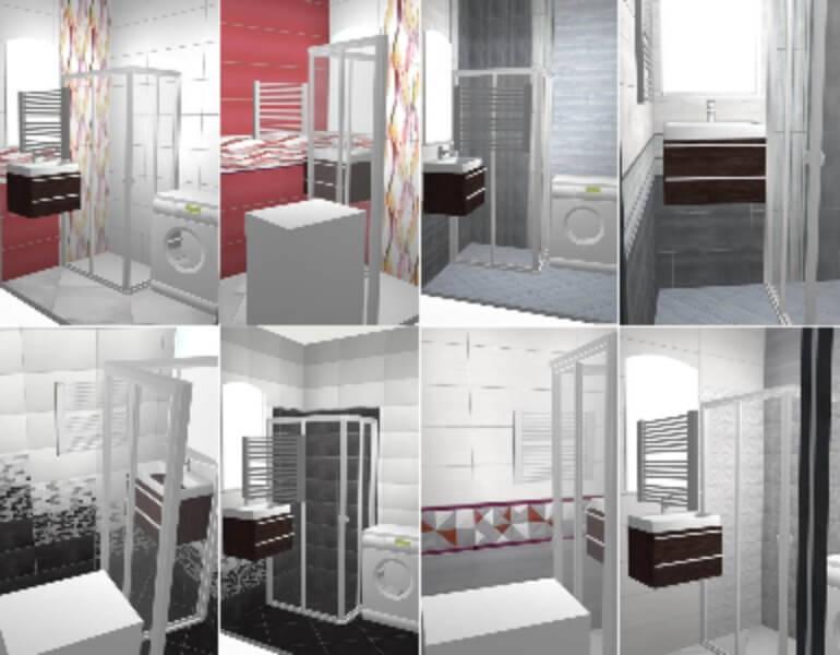 варианты совмещения ванной и туалета