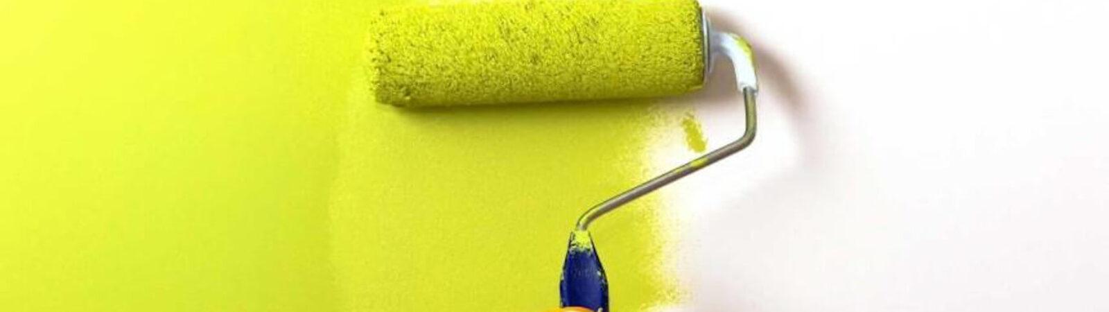 Как правильно красить стены валиком, особенности процесса