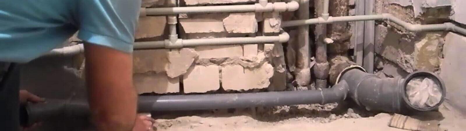 Как сделать разводку канализационных труб
