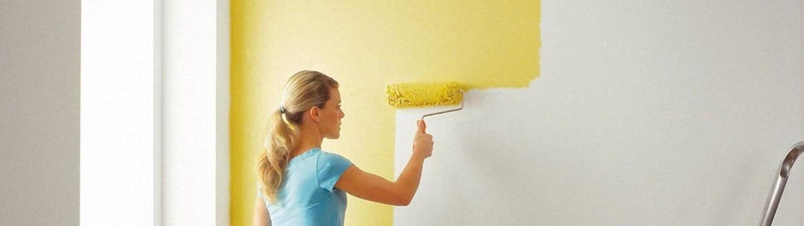 Как покрасить стену в квартире