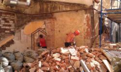 Демонтаж зданий стен домов Харьков недорого