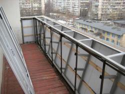 Расширение увеличение балкона Харьков