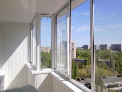 Ремонт обшивка балконов Харьков