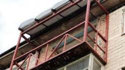 Ремонт увеличение балкона Харьков