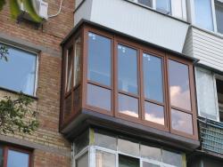 Увеличение ремонт остекление балконов
