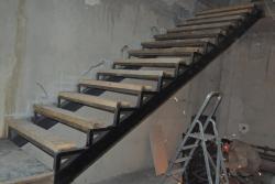 Лестница из уголка на технический этаж Харьков