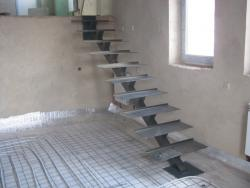 Проем лестница на техэтаж Харьков новострой