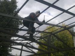 Сварка навесов беседок Харьков