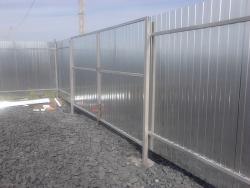 Забор из профнастила Харьков цена (2)