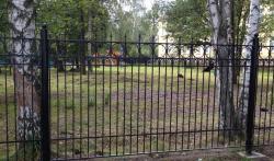 Паркан для территории с установкой Харьков